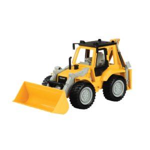backhoe loader yellow