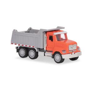 dump truck orange