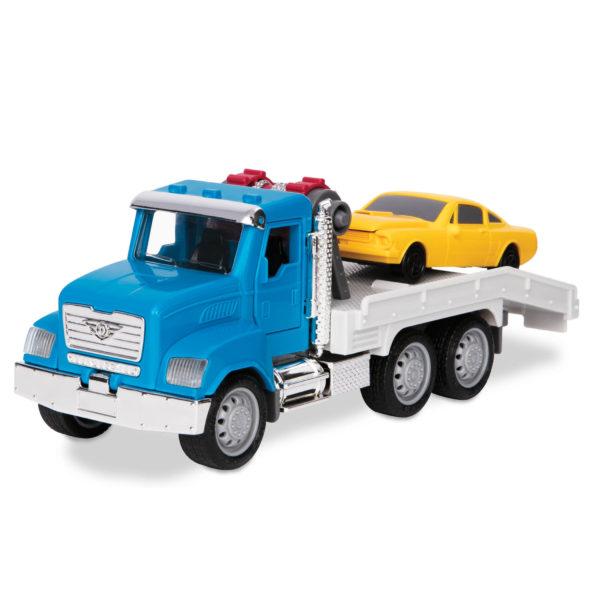 tow truck blue