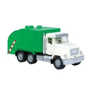recycling truck green