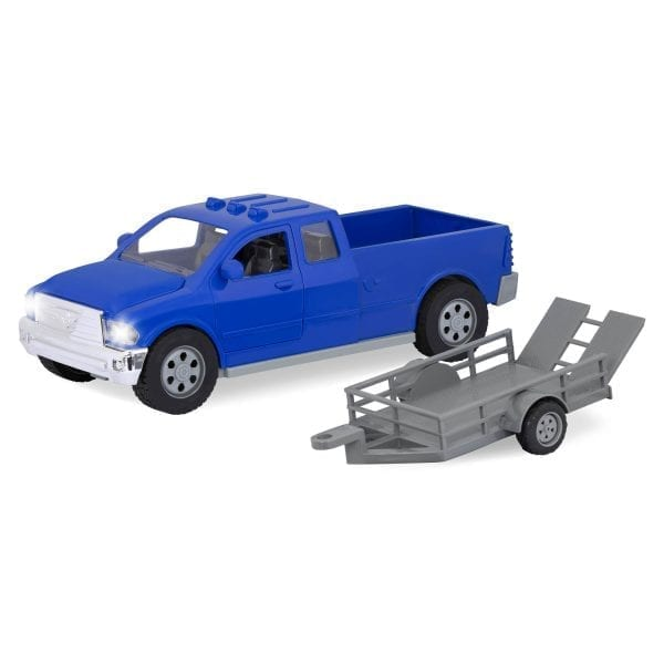 pick-up truck blue