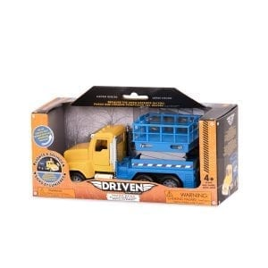 Lig Driven by Battat  Micro Scissor Lift Truck  Toy Truck with Movable Basket