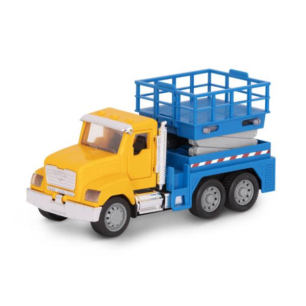 scissor lift truck yellow