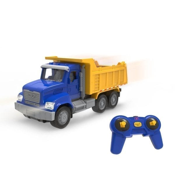 Toy dump truck with remote