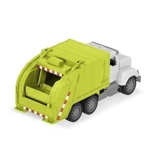 Toy remote control recycling truck.