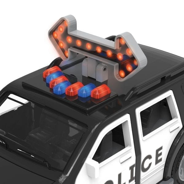 Toy police SUV.