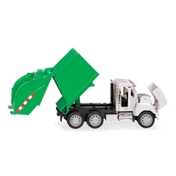 Toy recycling truck.